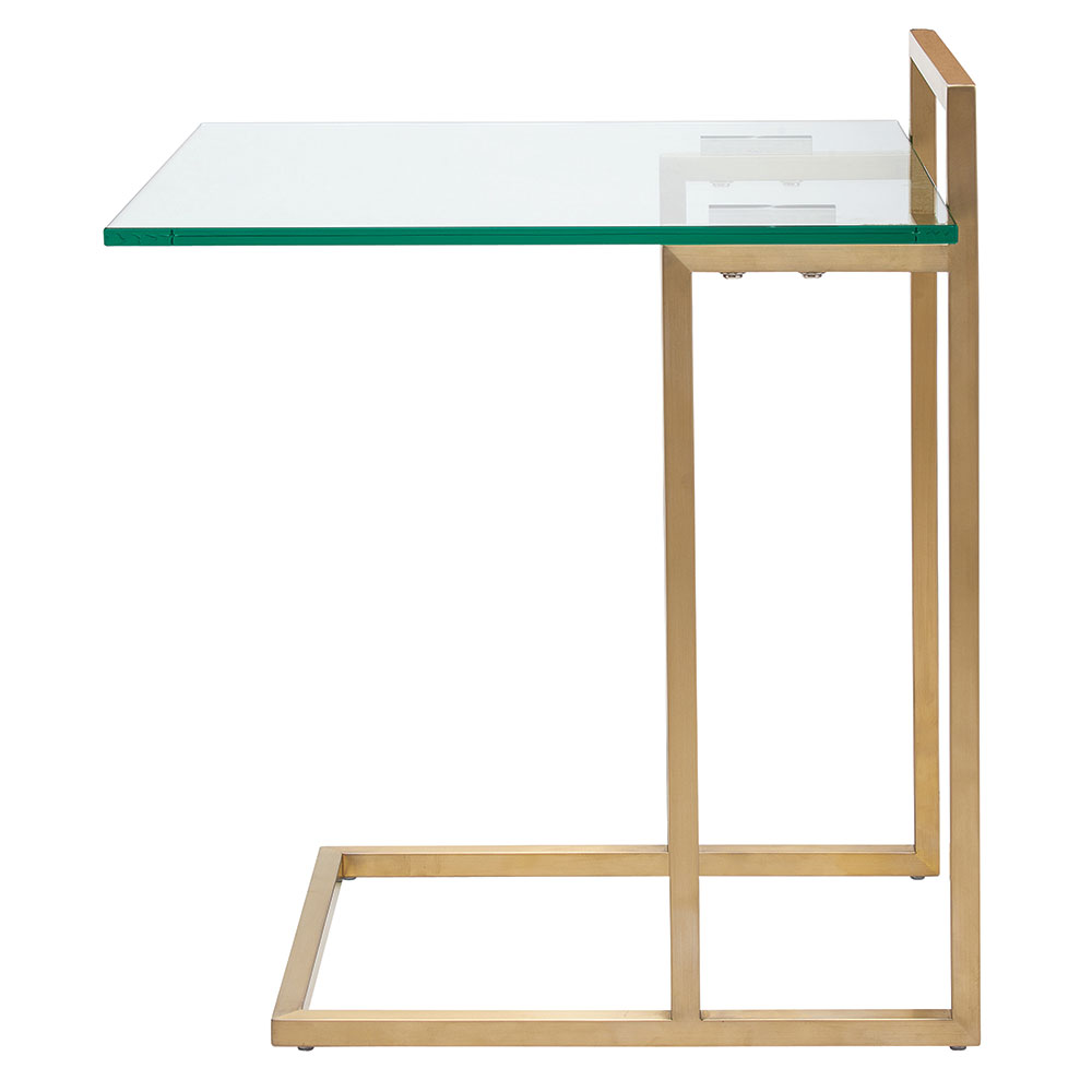 Eustace Side Table | Gold