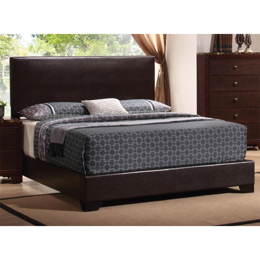 Excel Queen Bed | Brown