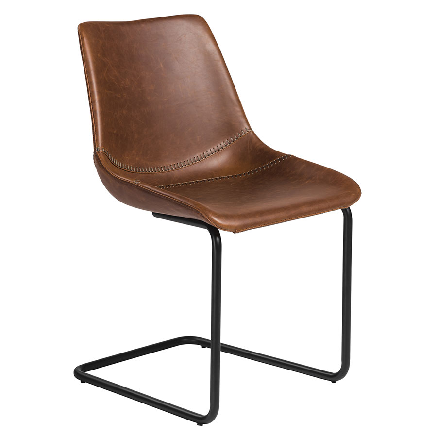Modern Dining Chairs | Flacco Brown Side Chair | Eurway