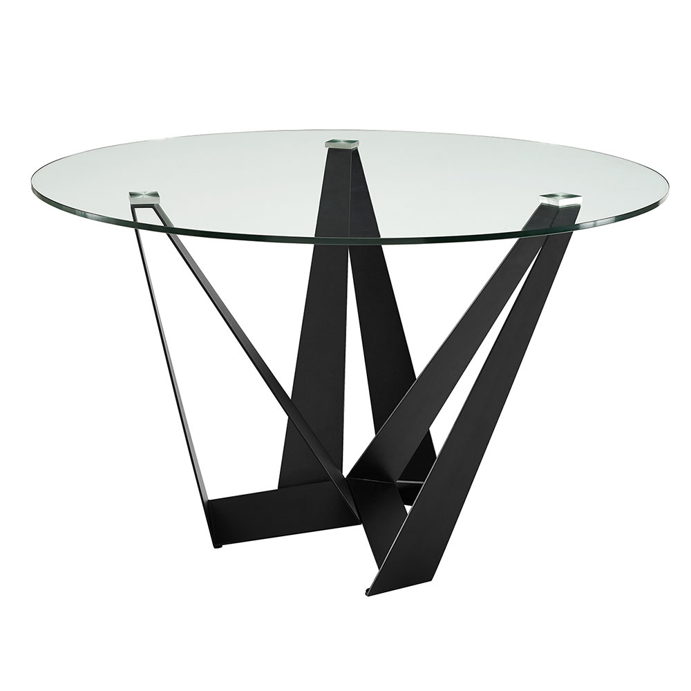 Florstadt Round Dining Table | Glass