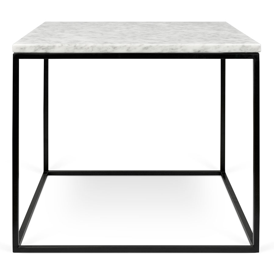 Gleam White Black Marble Modern Side Table By Temahome Eurway
