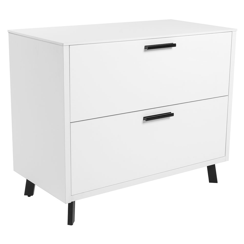 Hart Modern White Lateral File Cabinet