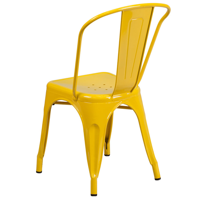 Isabella Side Chair Yellow