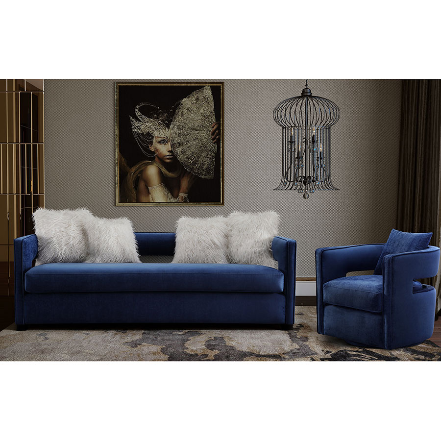 Admirable Katz Sofa Navy Creativecarmelina Interior Chair Design Creativecarmelinacom