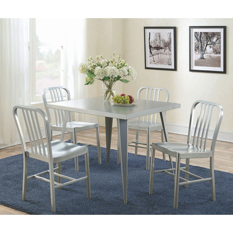 contemporary square dining table rustic landry dining set modern tables eurway