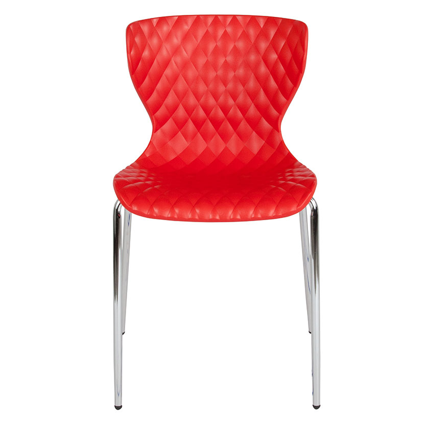 Admirable Laredo Stacking Chair Red Beatyapartments Chair Design Images Beatyapartmentscom