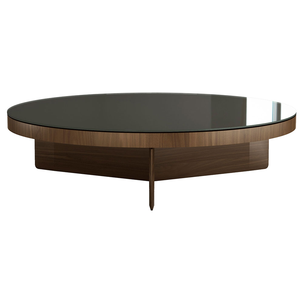 - Modloft Black Longford Round Modern Coffee Table Eurway