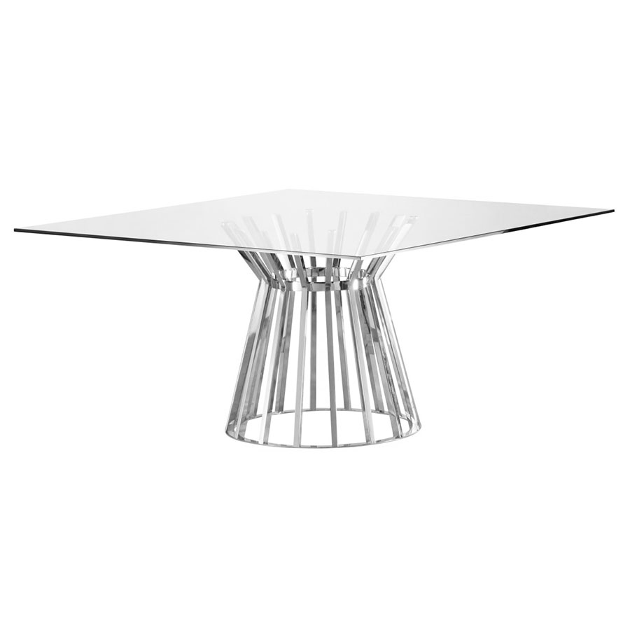 Maine modern square dining table eurway furniture watchthetrailerfo