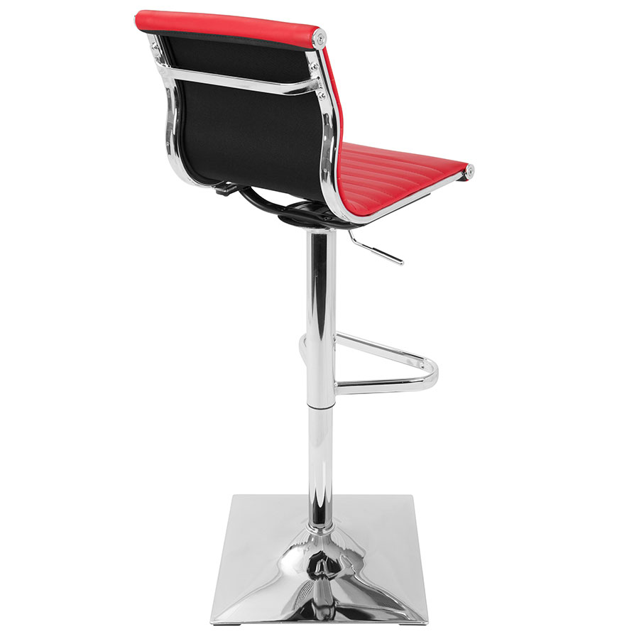 Pleasing Manheim Adjustable Stool Red Gmtry Best Dining Table And Chair Ideas Images Gmtryco