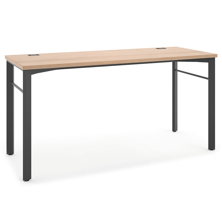 Marlin modern 60 in wheat desk eurway furniture