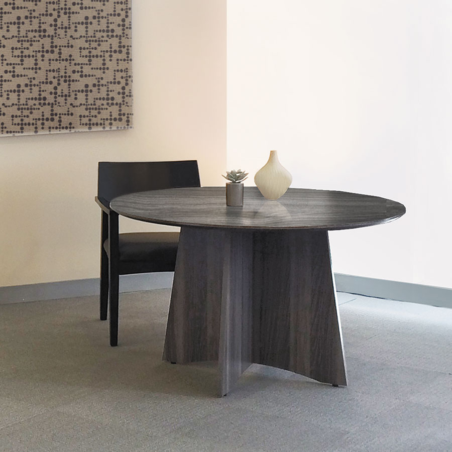 Maya Modern Round Conference Table Eurway Furniture - Round conference table and chairs