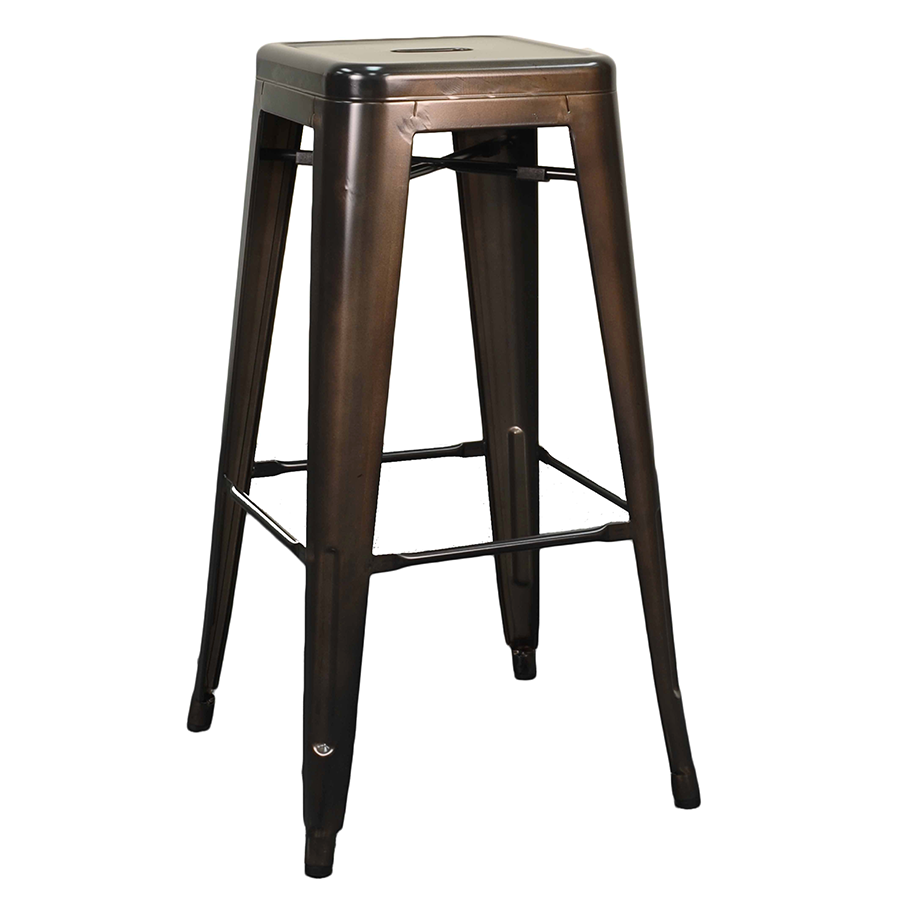 Miraculous Metro Backless Bar Stool Gun Metal Set Of 4 Evergreenethics Interior Chair Design Evergreenethicsorg