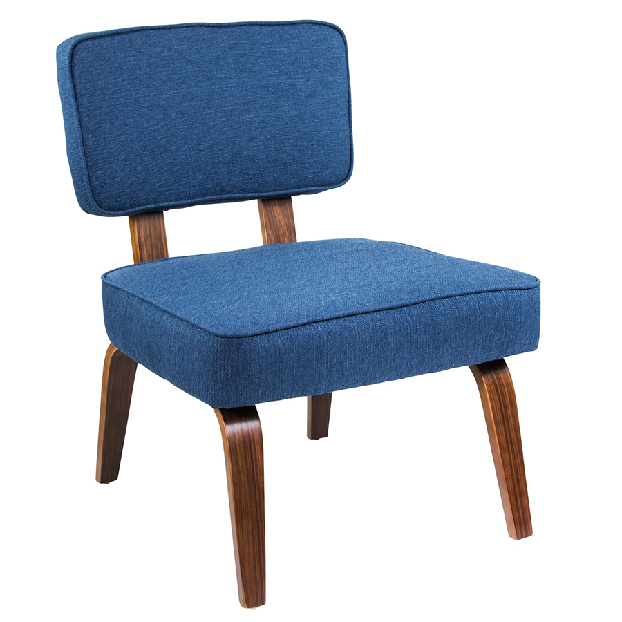 Modern Chairs | Norwich Blue Accent Chair | Eurway
