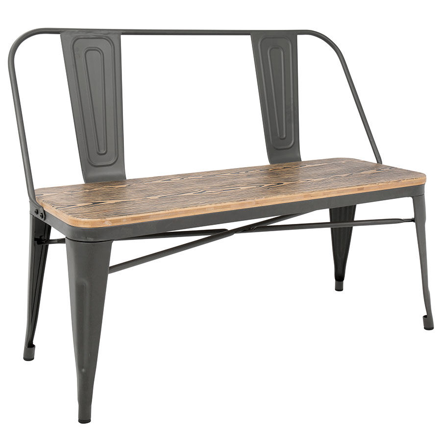 Terrific Oakland Dining Bench Gray Gmtry Best Dining Table And Chair Ideas Images Gmtryco