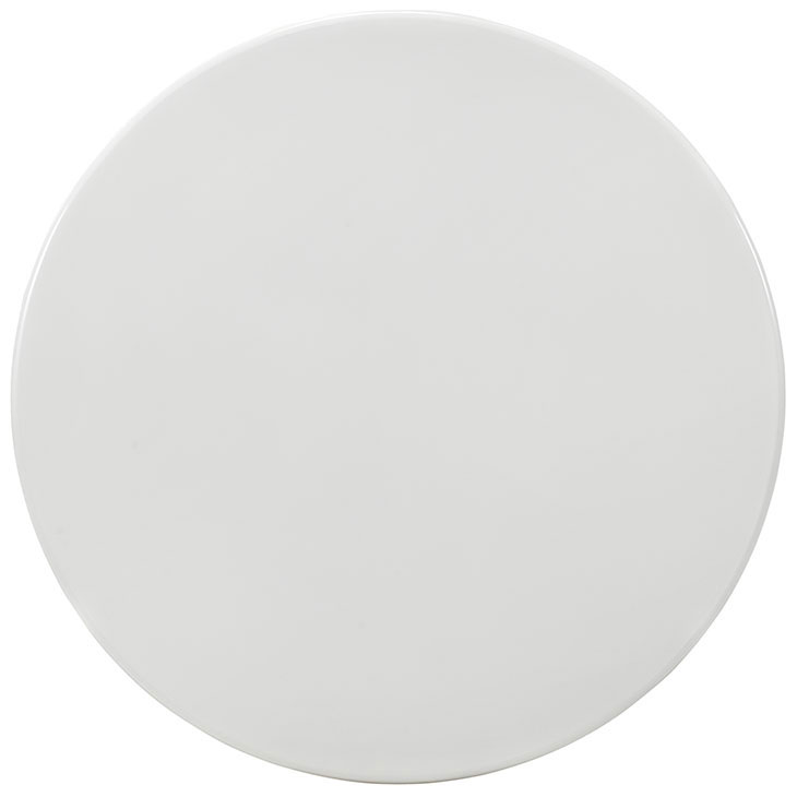 Odyssey 47 Round Dining Table White