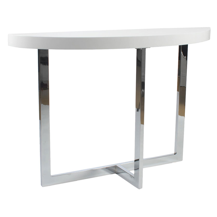 Groovy Oliver Console Table White Machost Co Dining Chair Design Ideas Machostcouk
