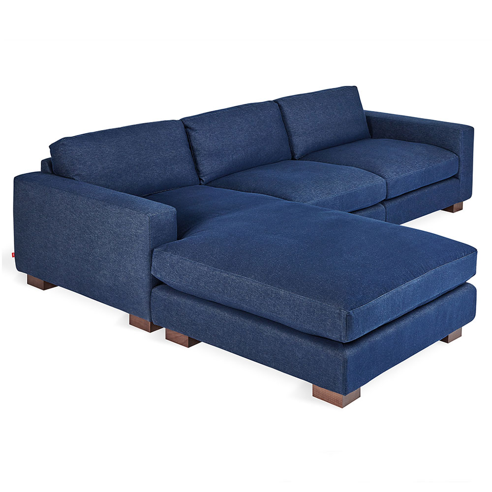 Pleasant Parkdale Bi Sectional Sofa Washed Denim Indigo Gmtry Best Dining Table And Chair Ideas Images Gmtryco