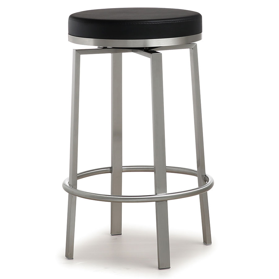 Modern stools petrino black counter stool eurway