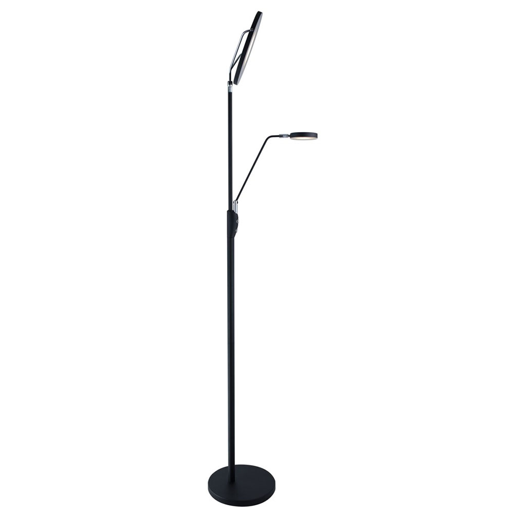 Ray Modern Led Torchiere Reading Floor Lamp Eurway