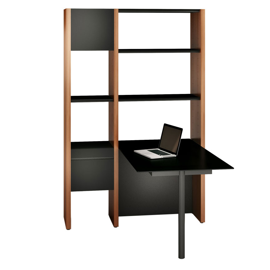 Modern office shelving Decor Overstockcom Semblance Narrow Modern Office By Bdi Eurway
