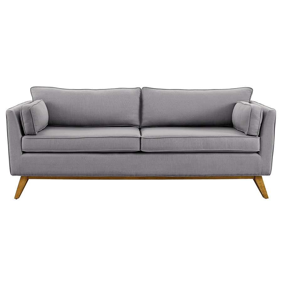 Modern Sofas | Sonora Light Gray Sofa | Eurway Furniture