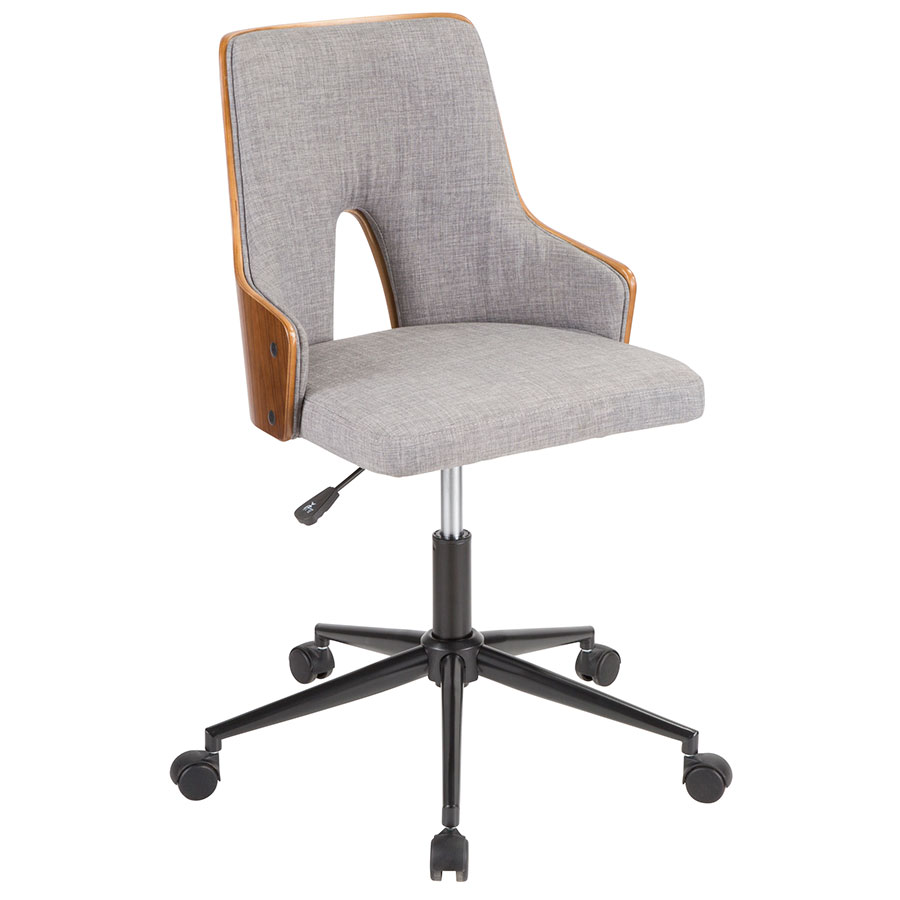 Enjoyable Stacia Office Chair Gray Gmtry Best Dining Table And Chair Ideas Images Gmtryco