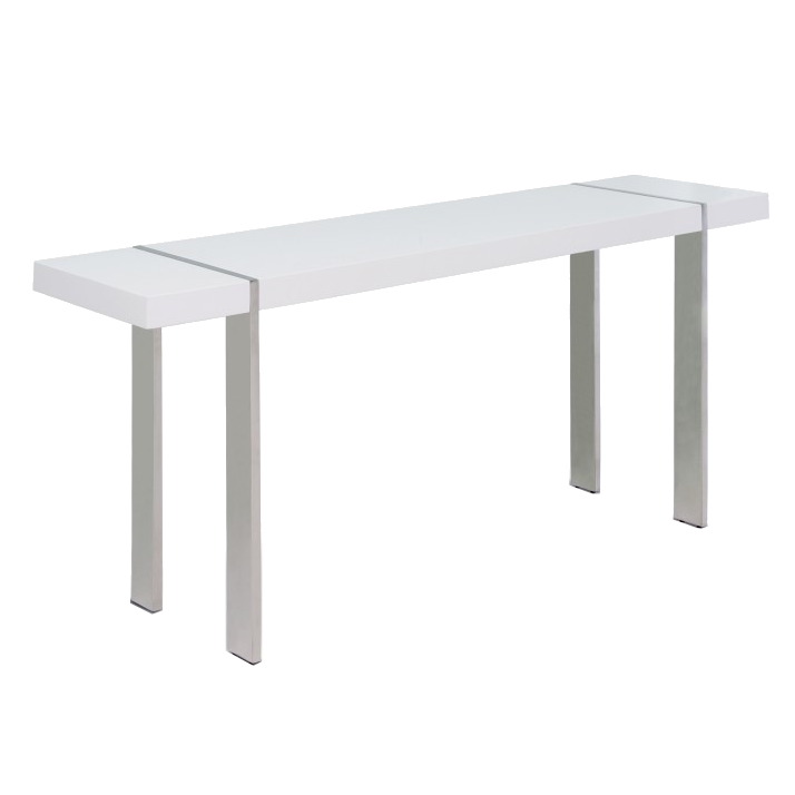 Call To Order · Sinclair White Modern Console
