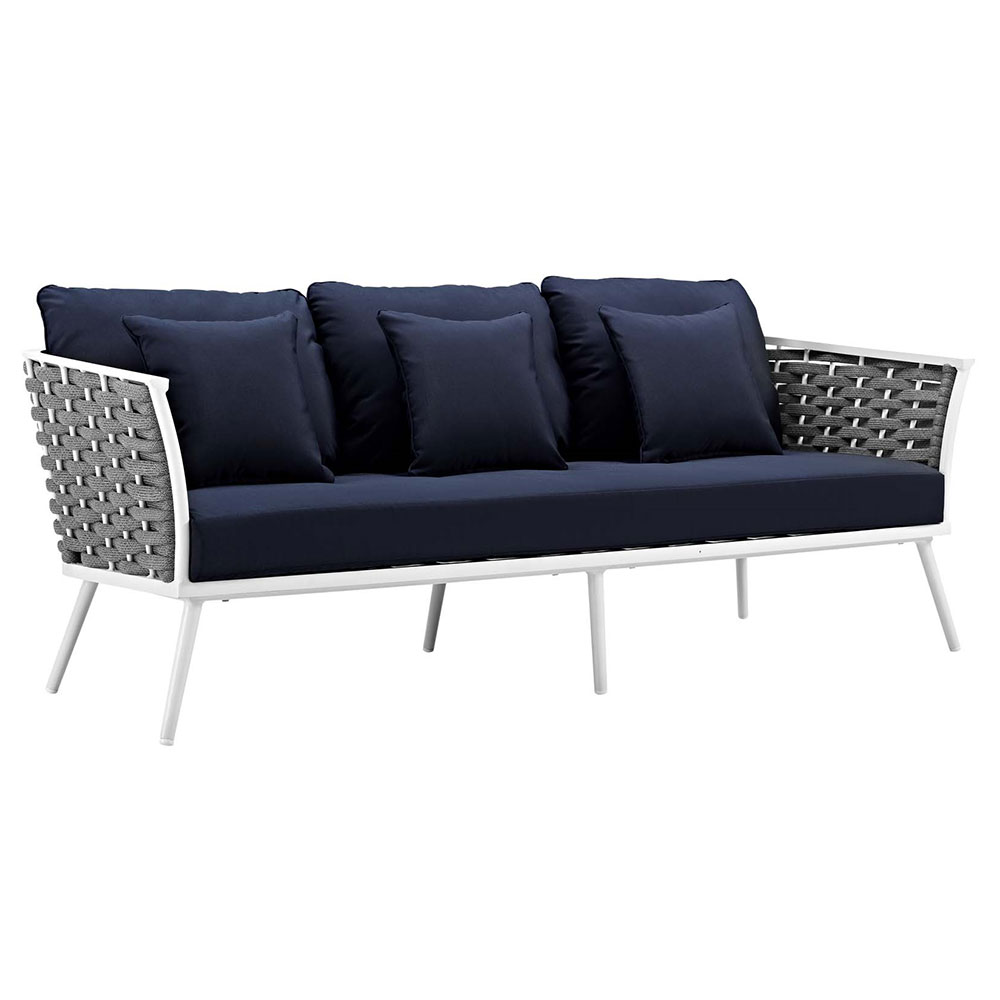 Sylvie Outdoor Sofa | Navy