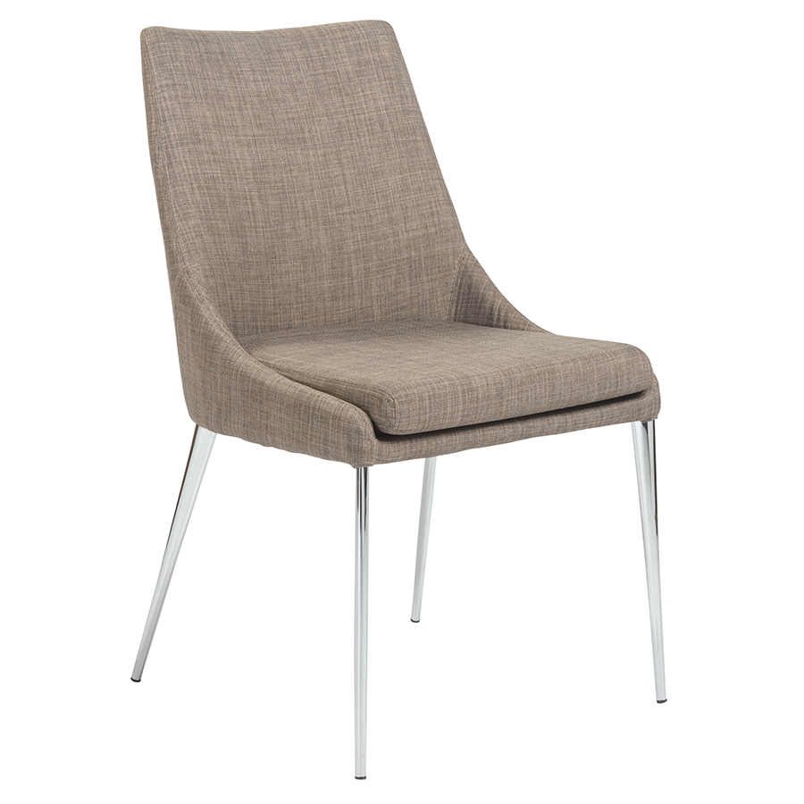 Tarnana gray modern dining chair by euro style eurway