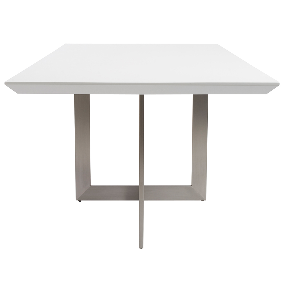 Tosca 79x39 Dining Table Gloss White