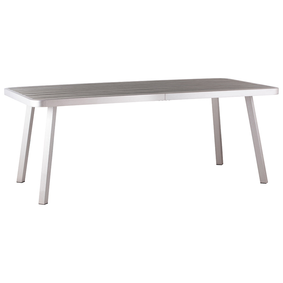 Townsend Modern Outdoor Dining Table Eurway Modern - White rectangular outdoor dining table