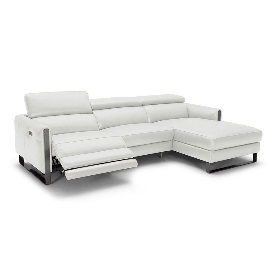 Vertigo Sofa W Right Facing Chaise Light Gray