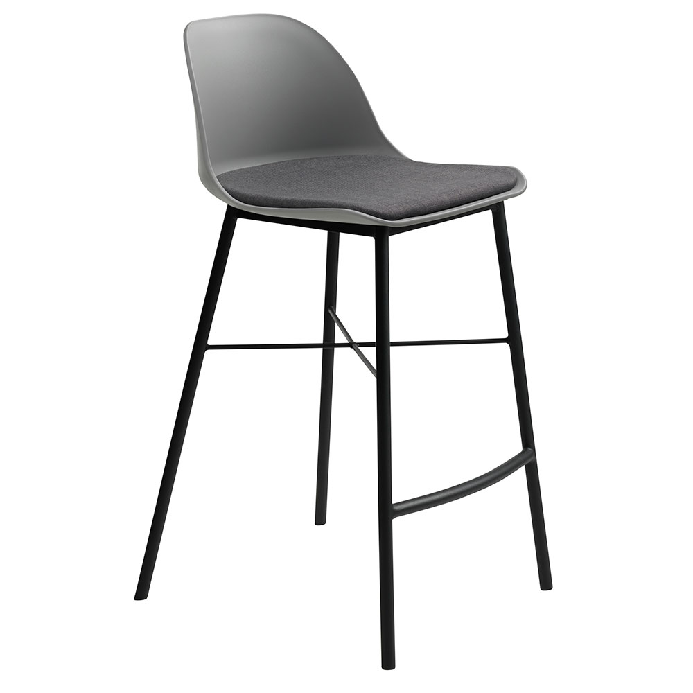 Whistler Modern Grey Counter Stool By Unique Furniture Eurway