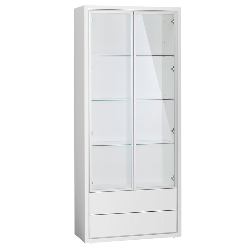 Superieur Quad Display Cabinet | Modern Buffets + Cabinets | Eurway