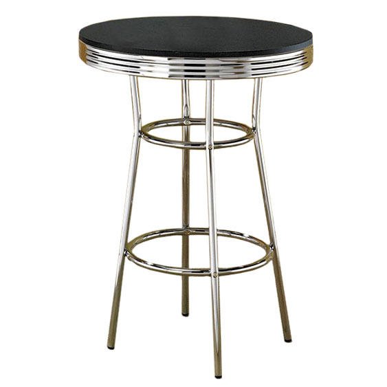 Retro Bar Table And Stools Gallery Table Decoration Ideas