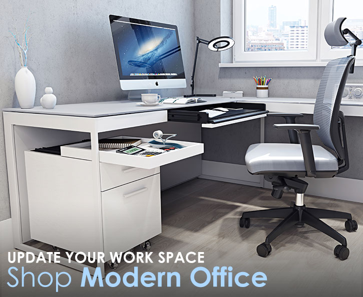 Shop for modern office furniture.