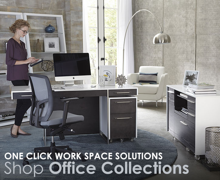Shop for modern office furniture sets and collections.