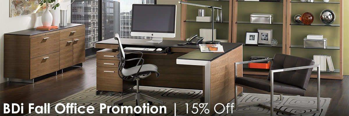 Going on now: BDi's Fall Office Sales Event - Save 15% on designer modern office furniture!