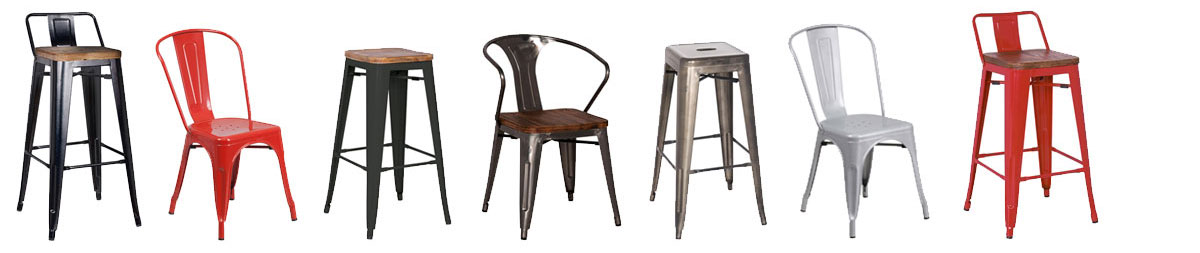 Eurway.com has the best selection of bistro style modern industrial dining furniture