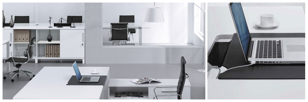 The Copenhagen Modern Office Furniture Collection is durable and beautiful.