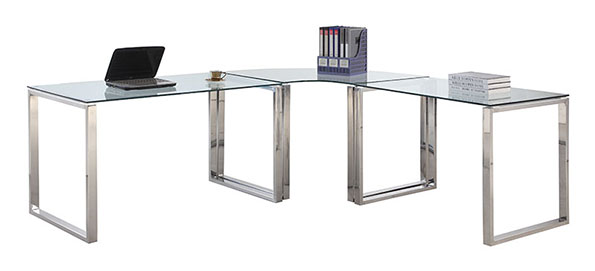 The Crowley L Desk is a top 5 Eurway.com Customer Pick Modern Desk.