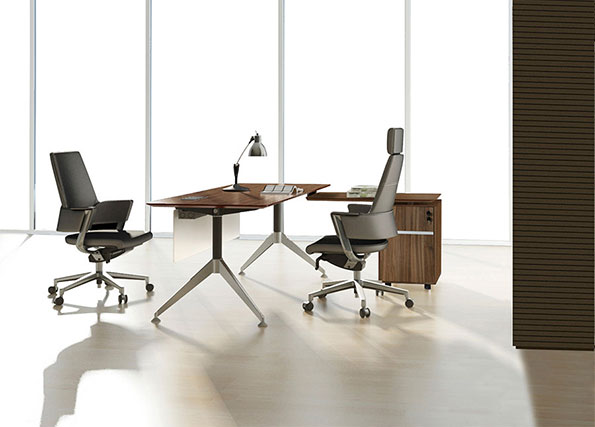 The Gothenburg 63'' Desk in Walnut is a top 5 Eurway.com Customer Pick Modern Desk.