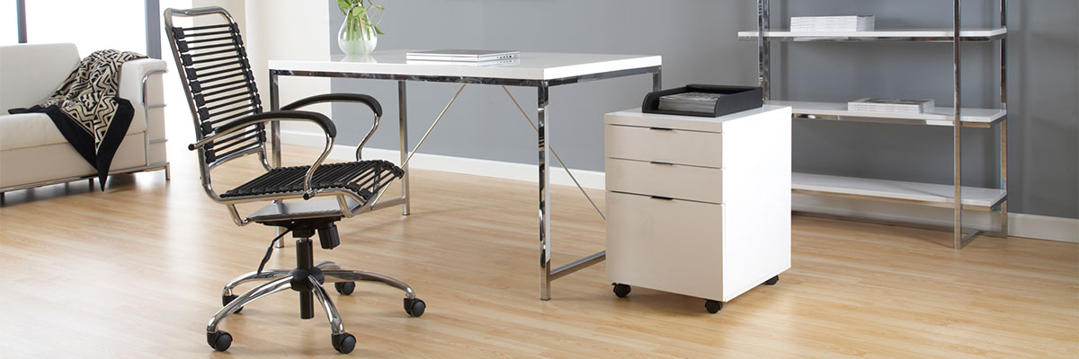The Gilbert Modern Office Collection is a minimalist modern office collection constructed with high quality materials.