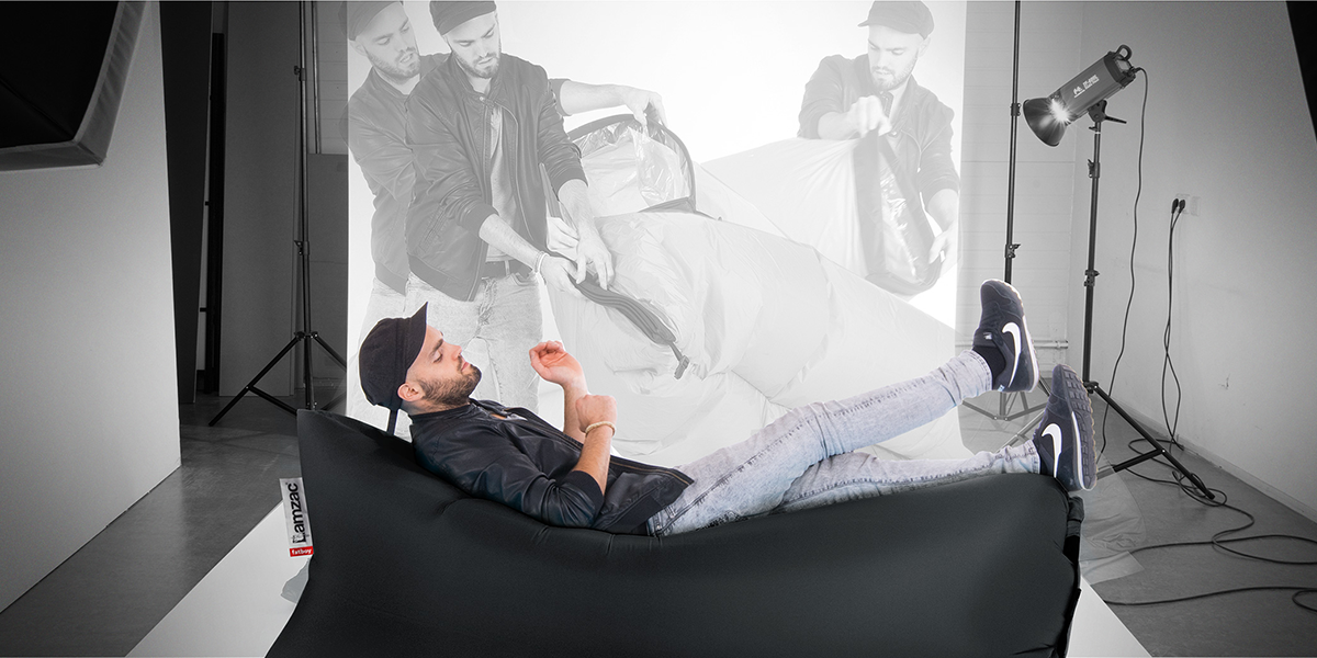 The Lamzac Inflatable Lounge is now available at Eurway.
