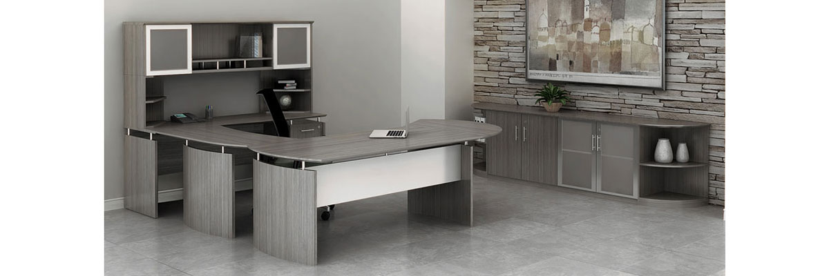 The Maya Modern Office Furniture Collection is stylish and commercial grade.