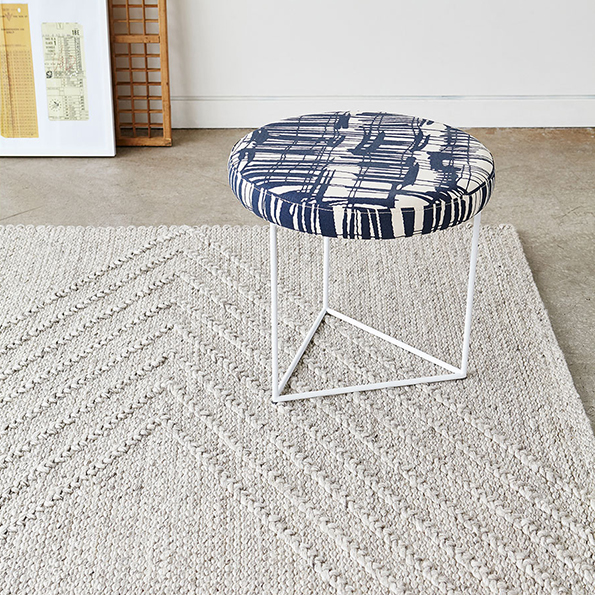 On Sale Now - The Nova Stool in Franz Indigo Upholstery by Gus* Modern