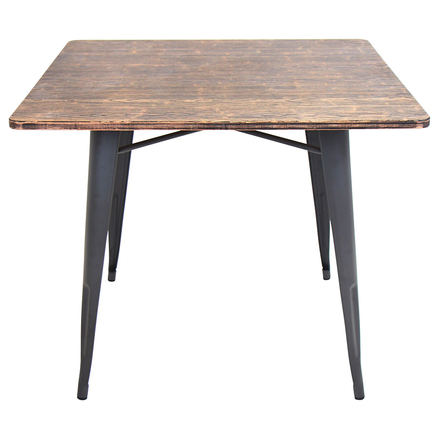 Industrial Kitchen Table Furniture Material Palettes Wood And Metal Eurway Blog