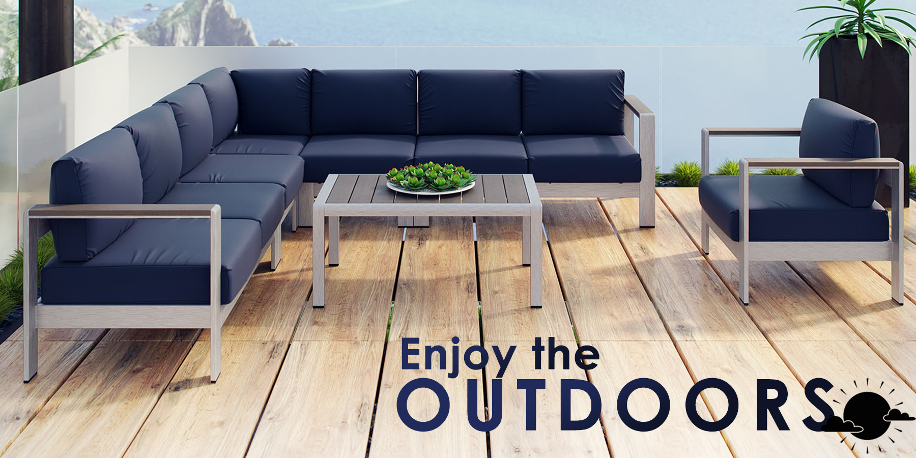 Contemporary Modern Outdoor Furniture