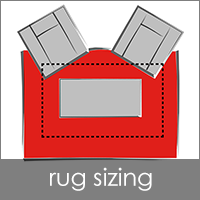 Sizing Modern Area Rugs
