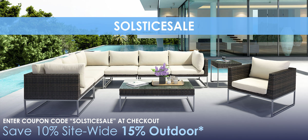 Save 10% Site-Wide 15% Outdoor With Coupon Code SOLSTICESALE - Eurway.com Modern Furniture